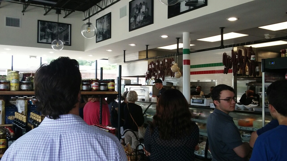 Stasio's Italian Deli & Market: Opening Day review!