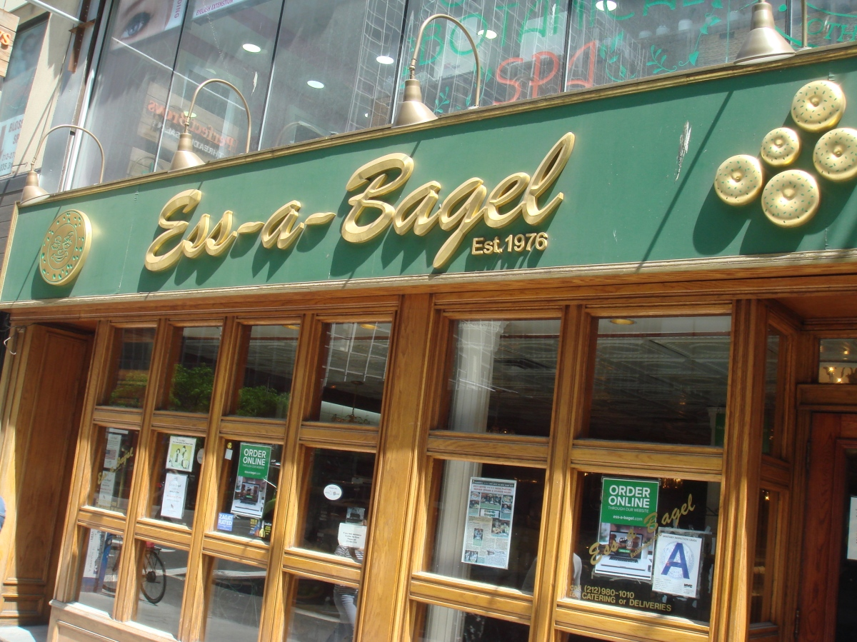 The New York Adventure Part 1: Ess-A-Bagel