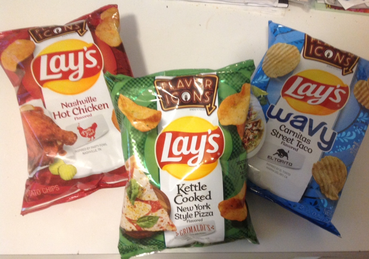 Grocery Grails: Lay's Flavor Icons potato chips